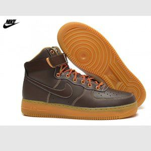 Nike airforce 1 High Winter Work Boot brown Size 9